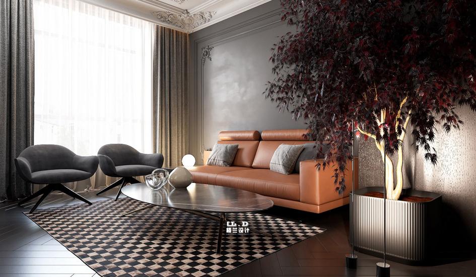 現代法式混搭風別墅裝修設計風格
